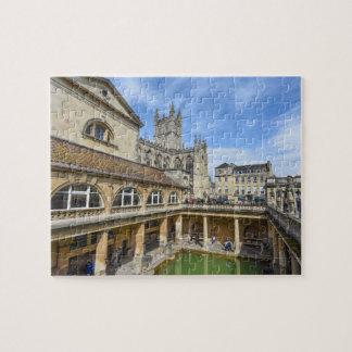Roman Ruins in Bath England Puzzle
