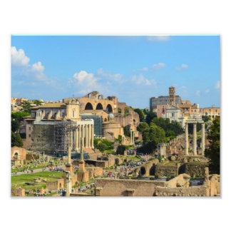 Roman Ruins in Rome Italy Photo Print