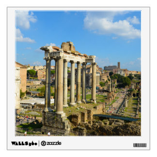 Roman Ruins in Rome Italy Wall Decal
