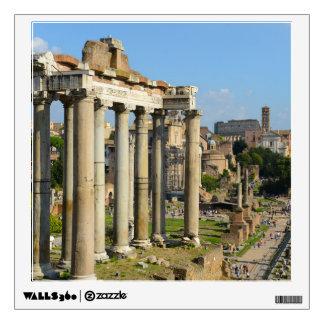 Roman Ruins in Rome Italy Wall Sticker