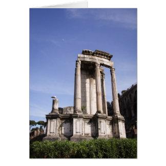 Roman Ruins Notecard