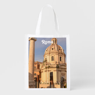 Roman Ruins Reusable Grocery Bag