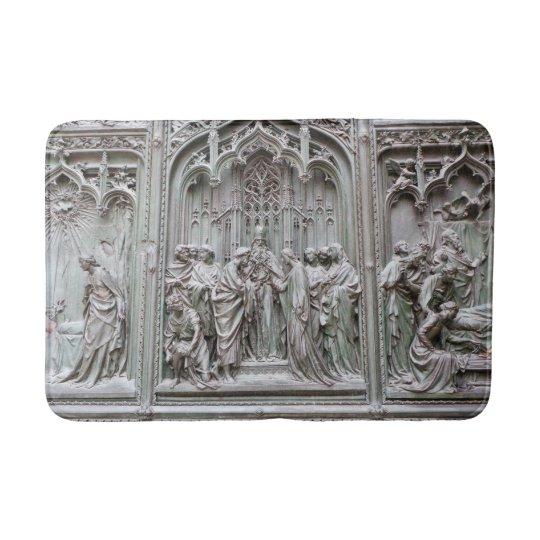 Roman Sculptures Bathroom Mat