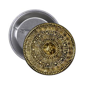 Roman Shield 2 Inch Round Button