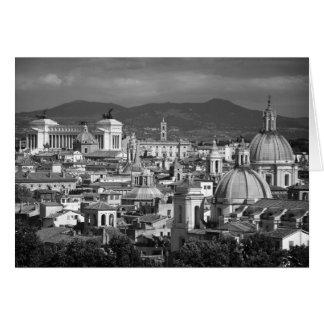 Roman Skyline Card