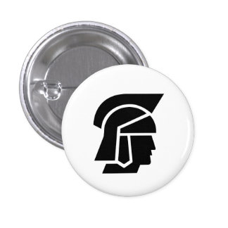 'Roman Soldier' Pictogram Button