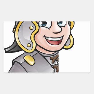Roman Soldier Pointing Sticker