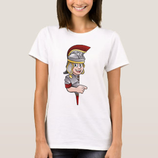 Roman Soldier Pointing T-Shirt