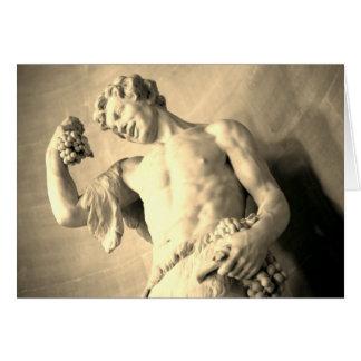 Roman Statue Card