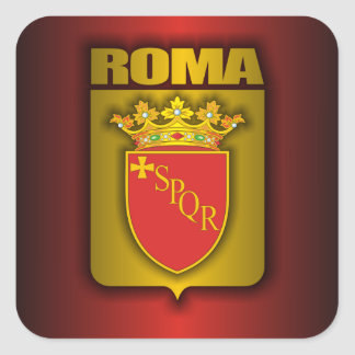 """Roman Steel"" Stickers"
