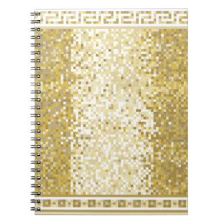 Roman style background notebooks