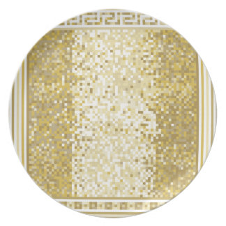 Roman style background plate