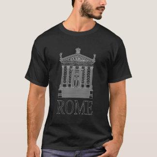 Roman Temple Outline T-Shirt