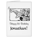 Roman Trumpeters Greeting Card