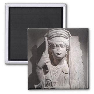 Roman woman grave marker magnet