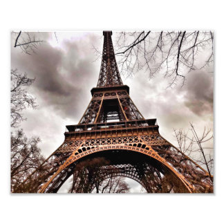 Romance and Mystery at the Eiffel Tower Print