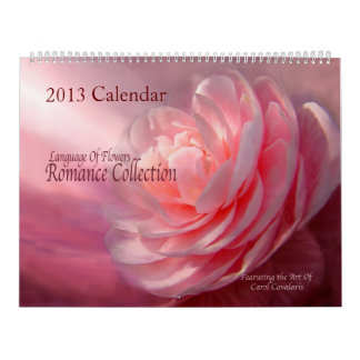 Romance Collection Floral Art Collection 2013 Calendar