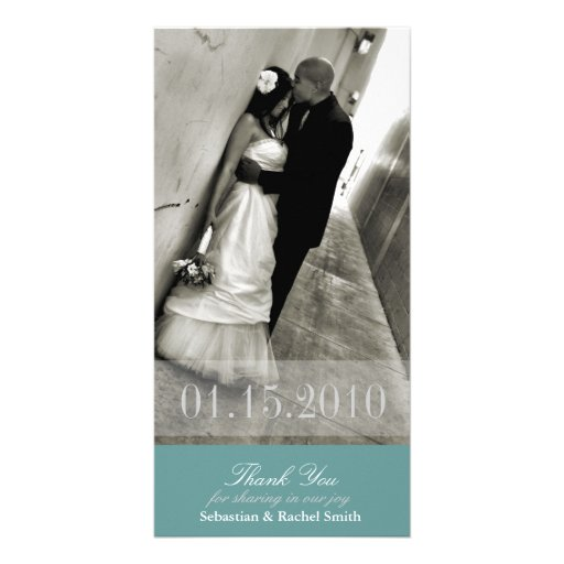 ROMANCE IN BLUE PICTURE CARD