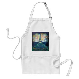 Romance in France Apron