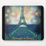 Romance in France Mousepad