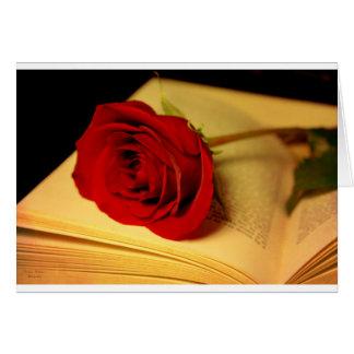 Romance in Literature Card