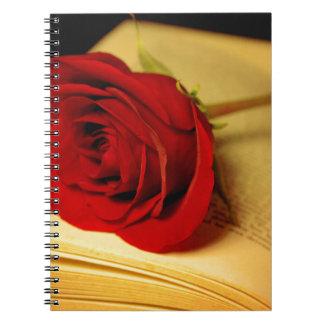 Romance in Literature Spiral Notebooks