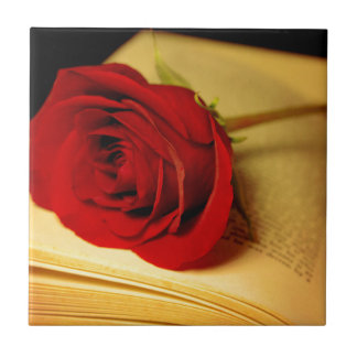 Romance in Literature Tile