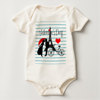 Romance in Paris Baby Bodysuit
