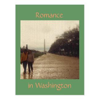 Romance in Washington Postcard