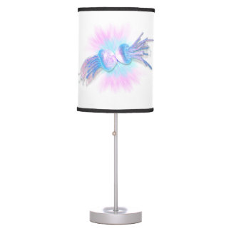 romance is in the water table lamp