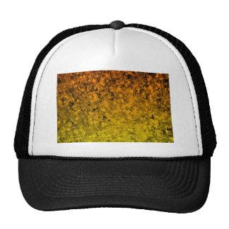 ROMANCE ME IN ORANGE Fiery Space Ombre Abstract Trucker Hat