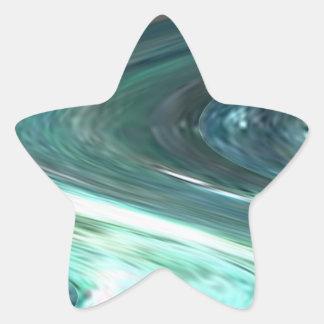 Romance of Solitude - Deep Water, Purple n Smiles Star Stickers