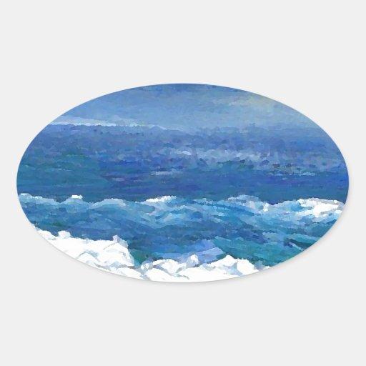 Romance of the Ocean - CricketDiane Ocean Sea Art Stickers