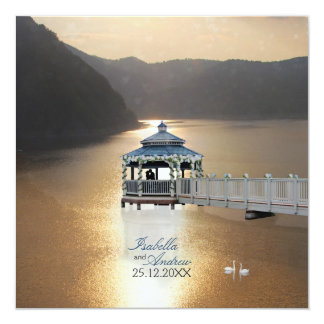 Romance on the Lake Card