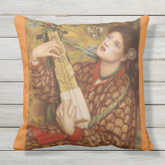 Romance pillow for the patio chaise