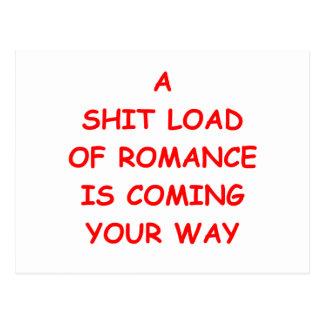 romance postcards