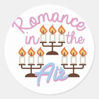 Romance Round Sticker