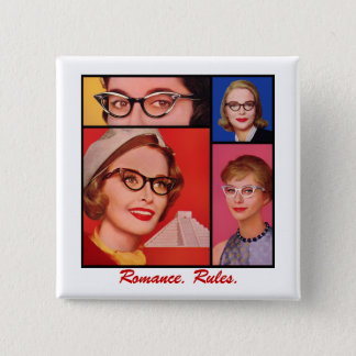 Romance. Rules. 2 Inch Square Button