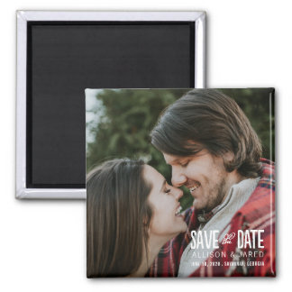 Romance Save the Date Magnet