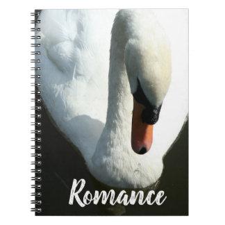 Romance Swan Notebook