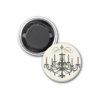 Romance with a Chandelier ~ Magnet French Love