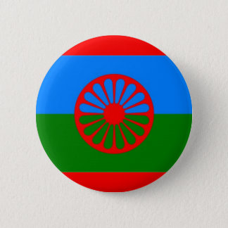 ROMANI FLAG 2 INCH ROUND BUTTON