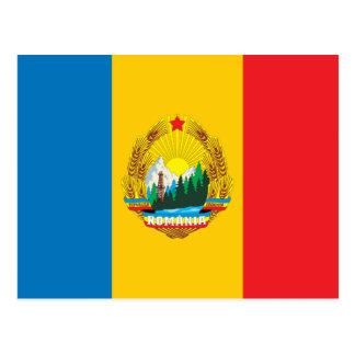 Romania 1965 Flag Postcard