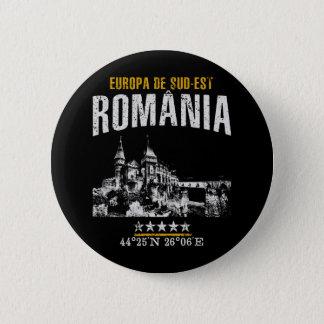 România 2 Inch Round Button