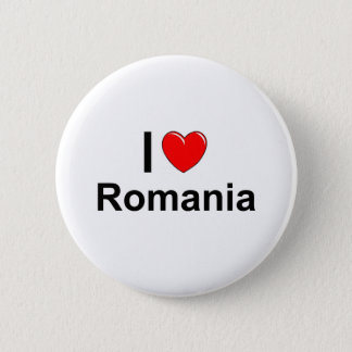 Romania 2 Inch Round Button