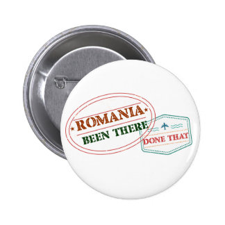 Romania Been There Done That 2 Inch Round Button