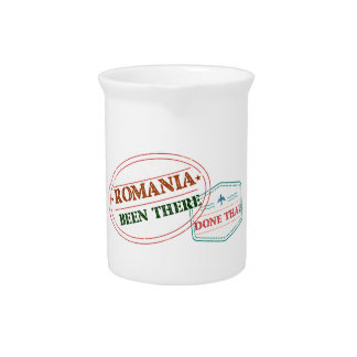 Romania Been There Done That Drink Pitchers