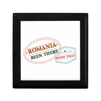 Romania Been There Done That Gift Box