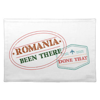 Romania Been There Done That Place Mat