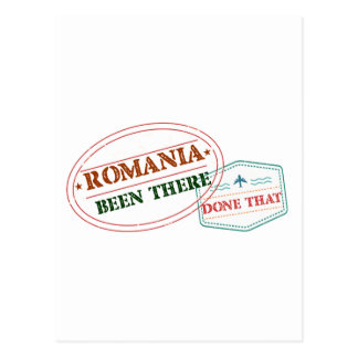 Romania Been There Done That Postcard
